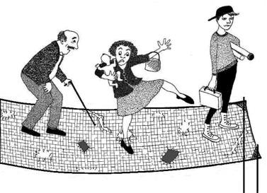 dessin assurances sociales, filet ?