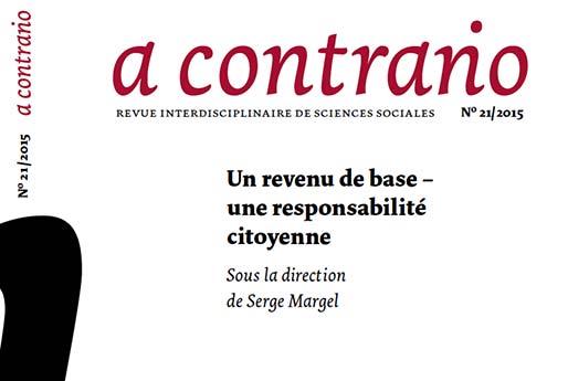 Frontseite von A Contrario Nr. 21