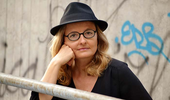 Martina Chyba, Chefin der Rubrik Gesellschaft-Kultur, RTS