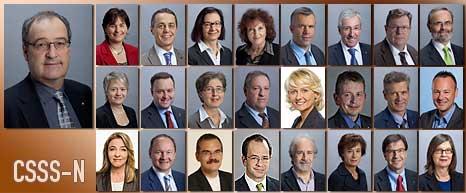 Membri della CSSS-N