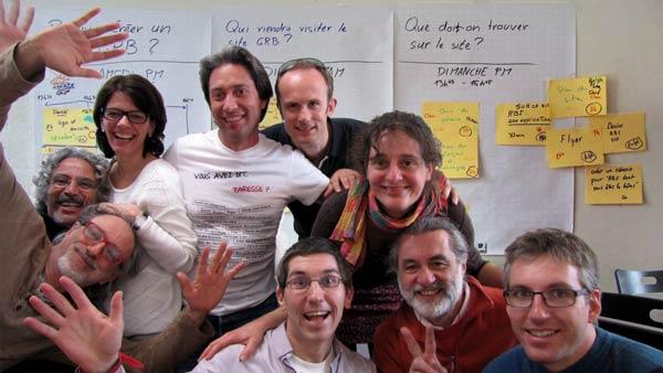 Membres du réseau « Génération RBI », crédit photo: David Dräyer et Ralph Kundig