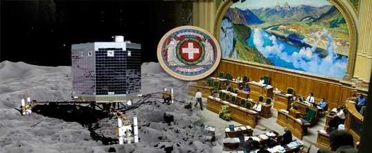 Rosetta auf 67P und die Initiative im Parlament
