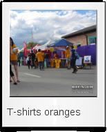T-shirts oranges
