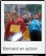 Bernard en action
