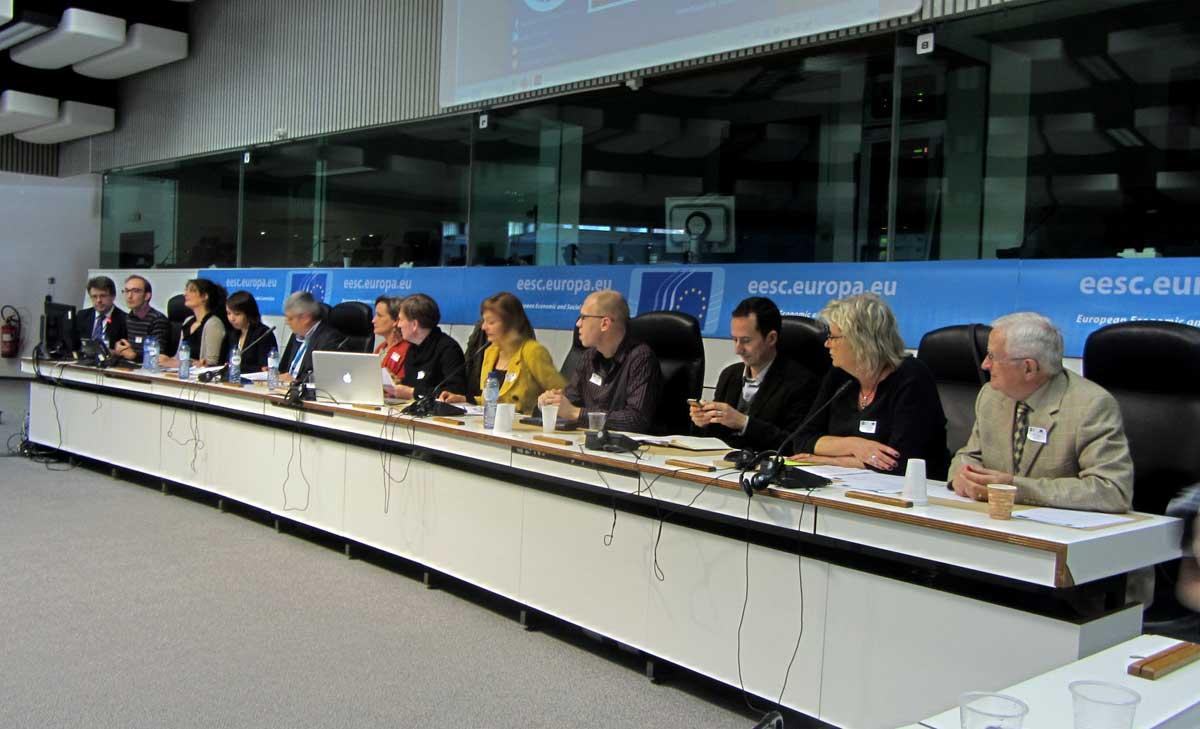 Panel of speakers