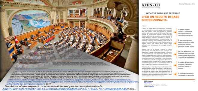 Il nostro dossier d'informazioni è inviato al Parlamento