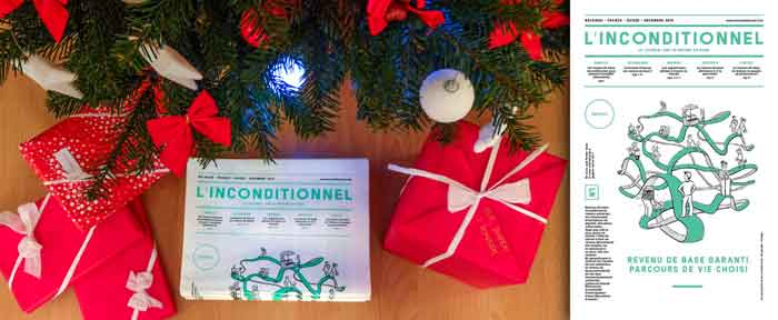 L'inconditionnel under the Christmas tree