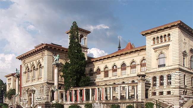 Palais de Rumine in Lausanne