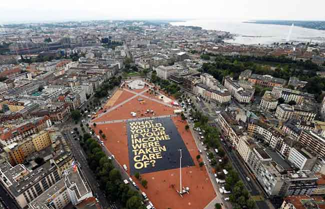 biggest poster in Geneva